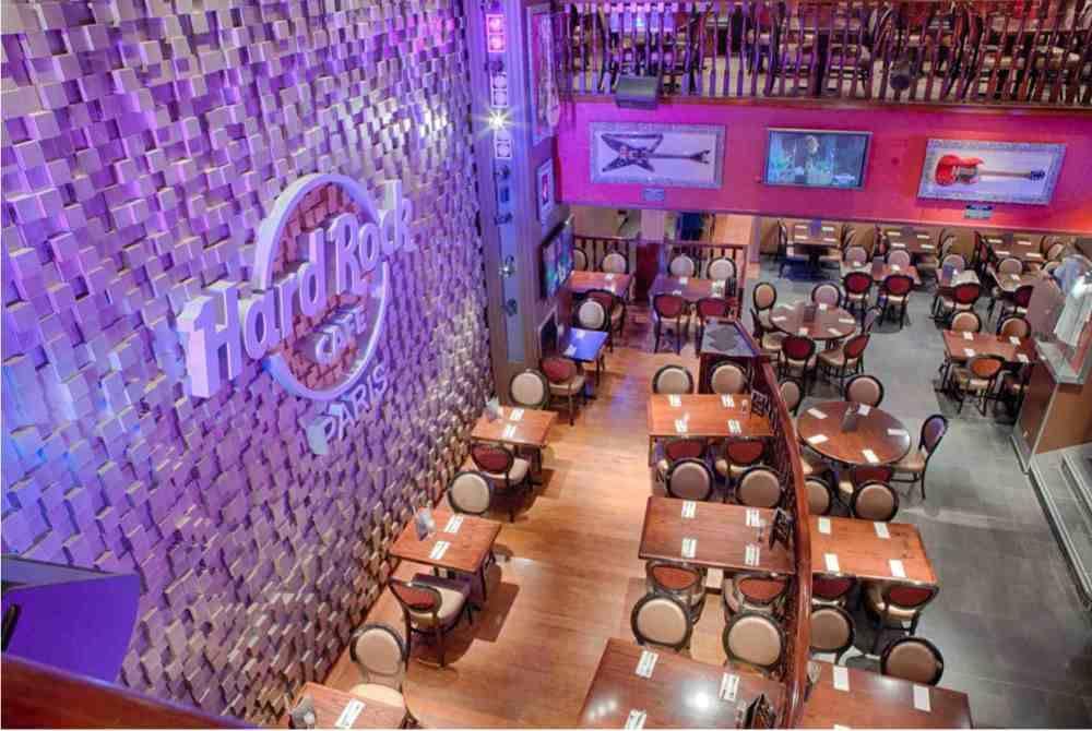 Hard Rock Café Paris (Privatisation)